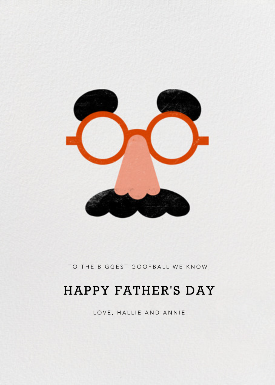 Goofball - Paperless Post - Father's Day cards