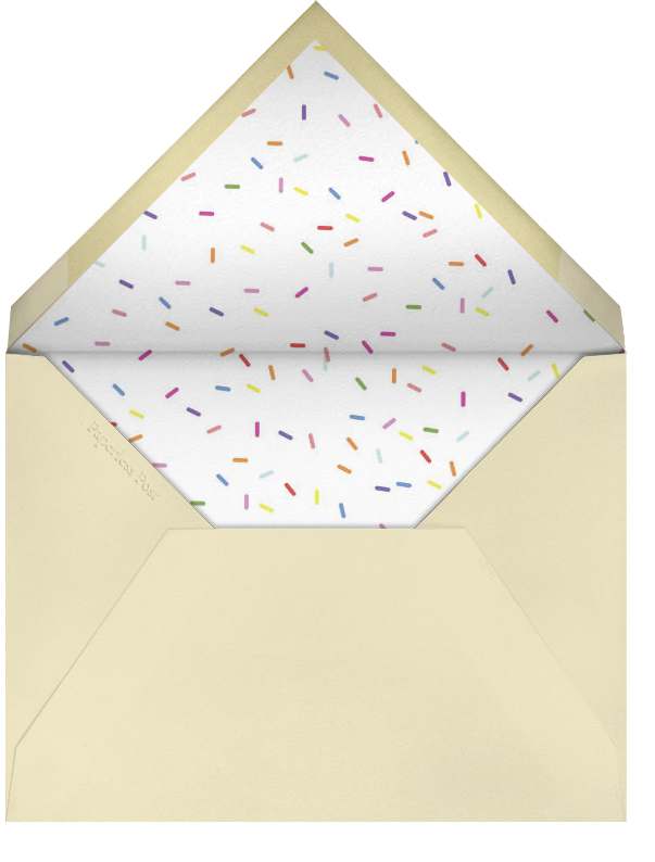 Donuts - Technicolor - Paperless Post - Mother's Day - envelope back