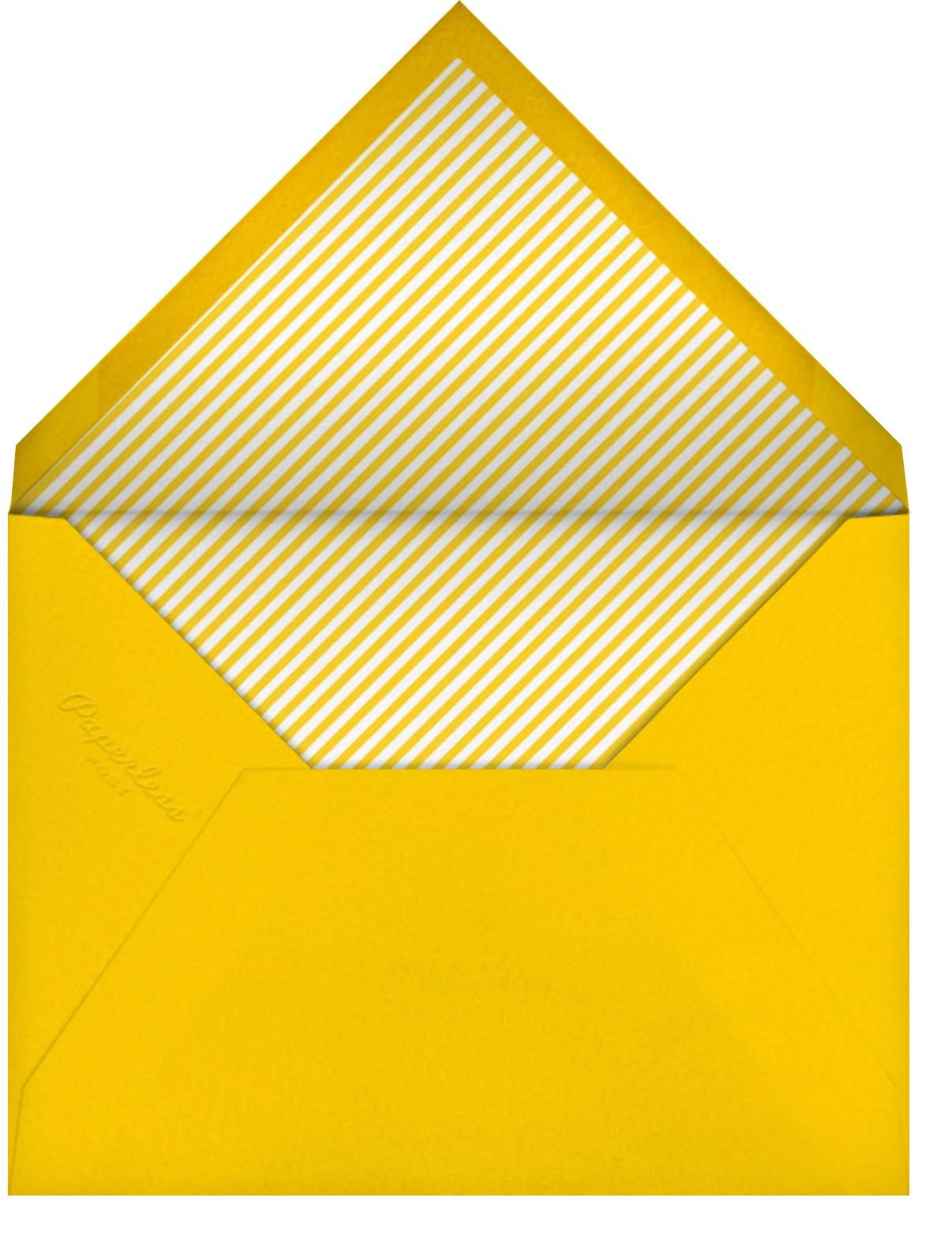 Foam Number One Hand - Paperless Post - Envelope