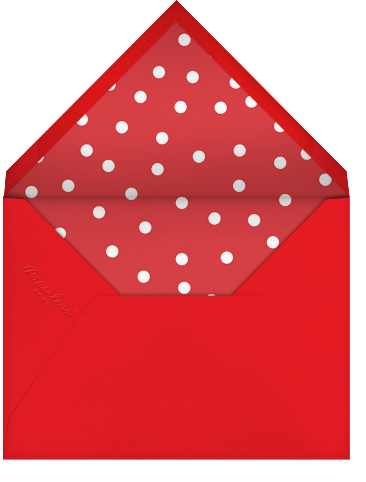 The Best - Paperless Post - Father's Day - envelope back
