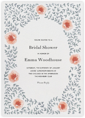 Sylvia II - Paperless Post - Bridal shower invitations