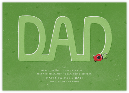Deere Dad - Paperless Post - Father's Day cards