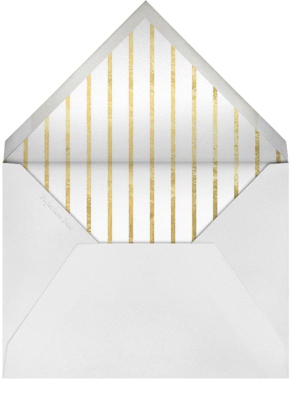 Geo - Gold and Blue - Jonathan Adler - Envelope