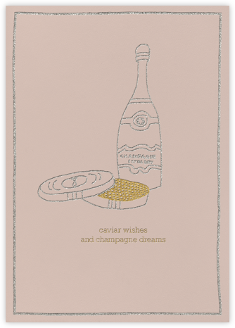 Caviar Wishes - Rose - Paperless Post -