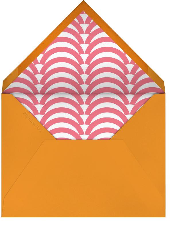 Sunflower - Pink and Orange - Jonathan Adler - Mother's Day - envelope back
