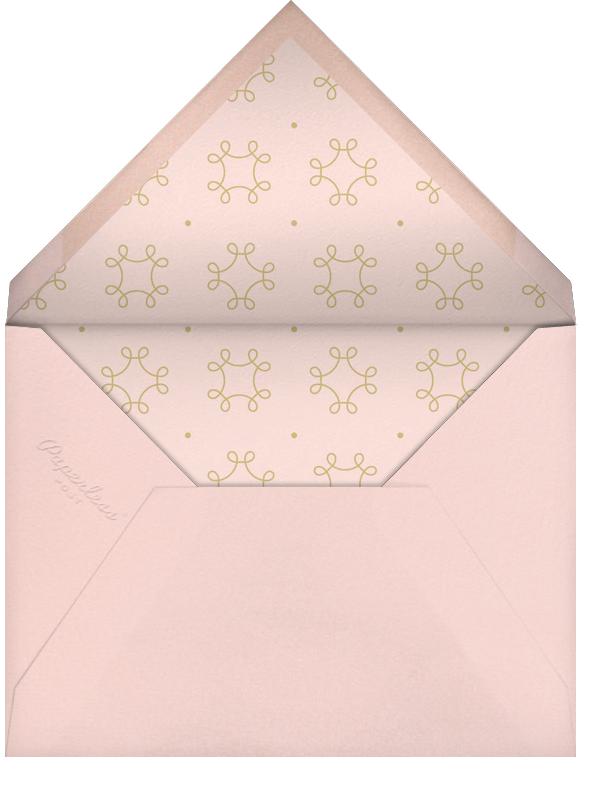 A Bachelorette To Forget - Derek Blasberg - Bachelorette party - envelope back