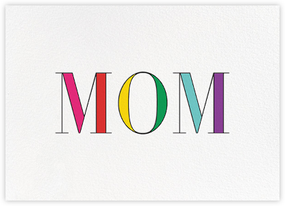Rainbow Mom  - kate spade new york - Mother's Day Cards