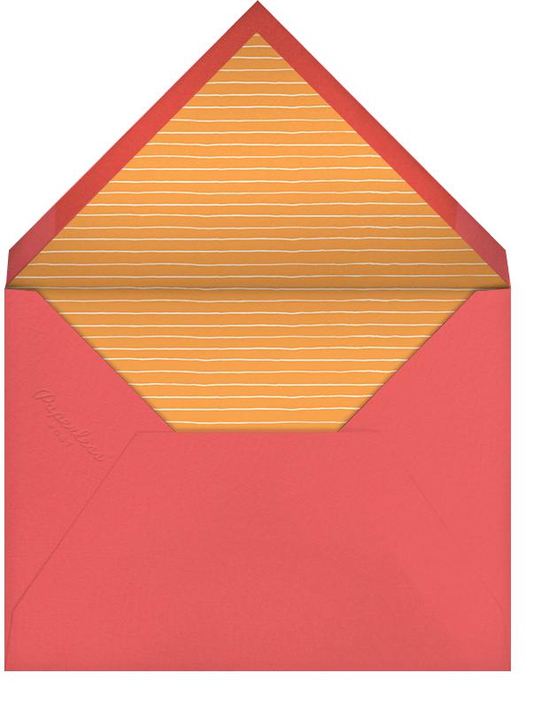 Lanterns (Sherbet) - Paperless Post - Birthday - envelope back