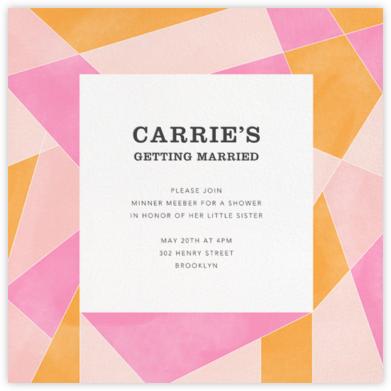 Mosaic - Pink - Paperless Post -