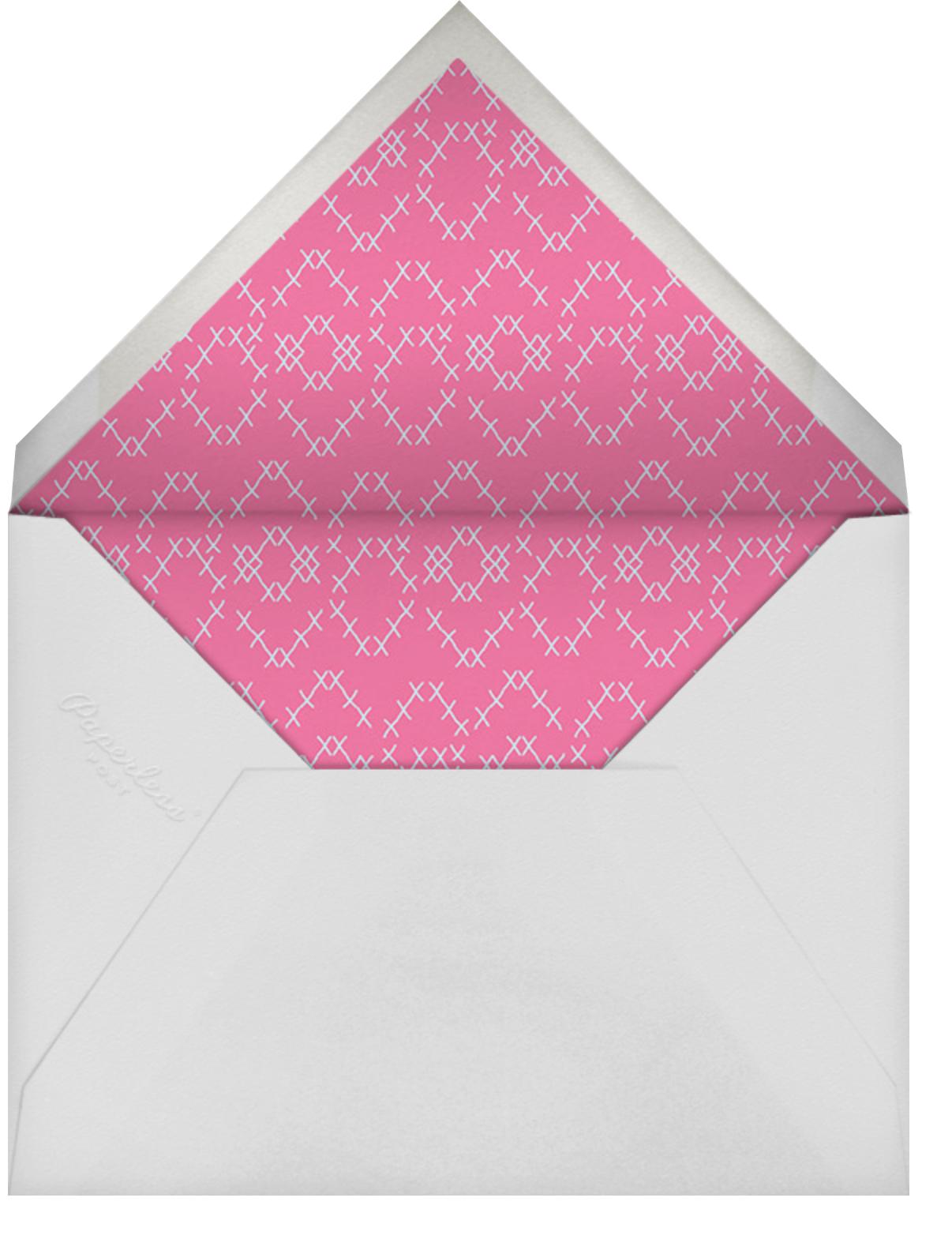 Needlework Hoop - Paperless Post - Envelope