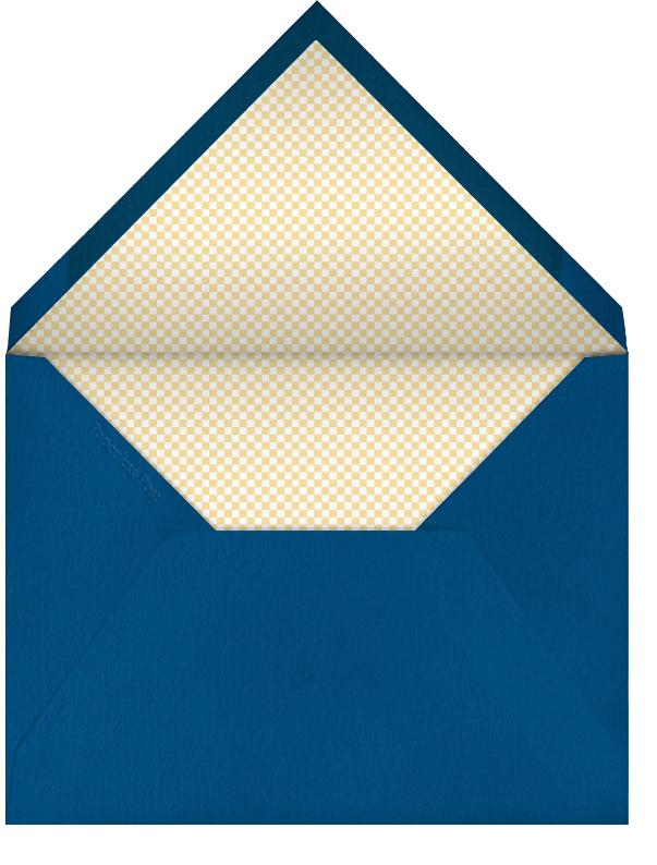 Foam Number One Hand - Paperless Post - Graduation - envelope back