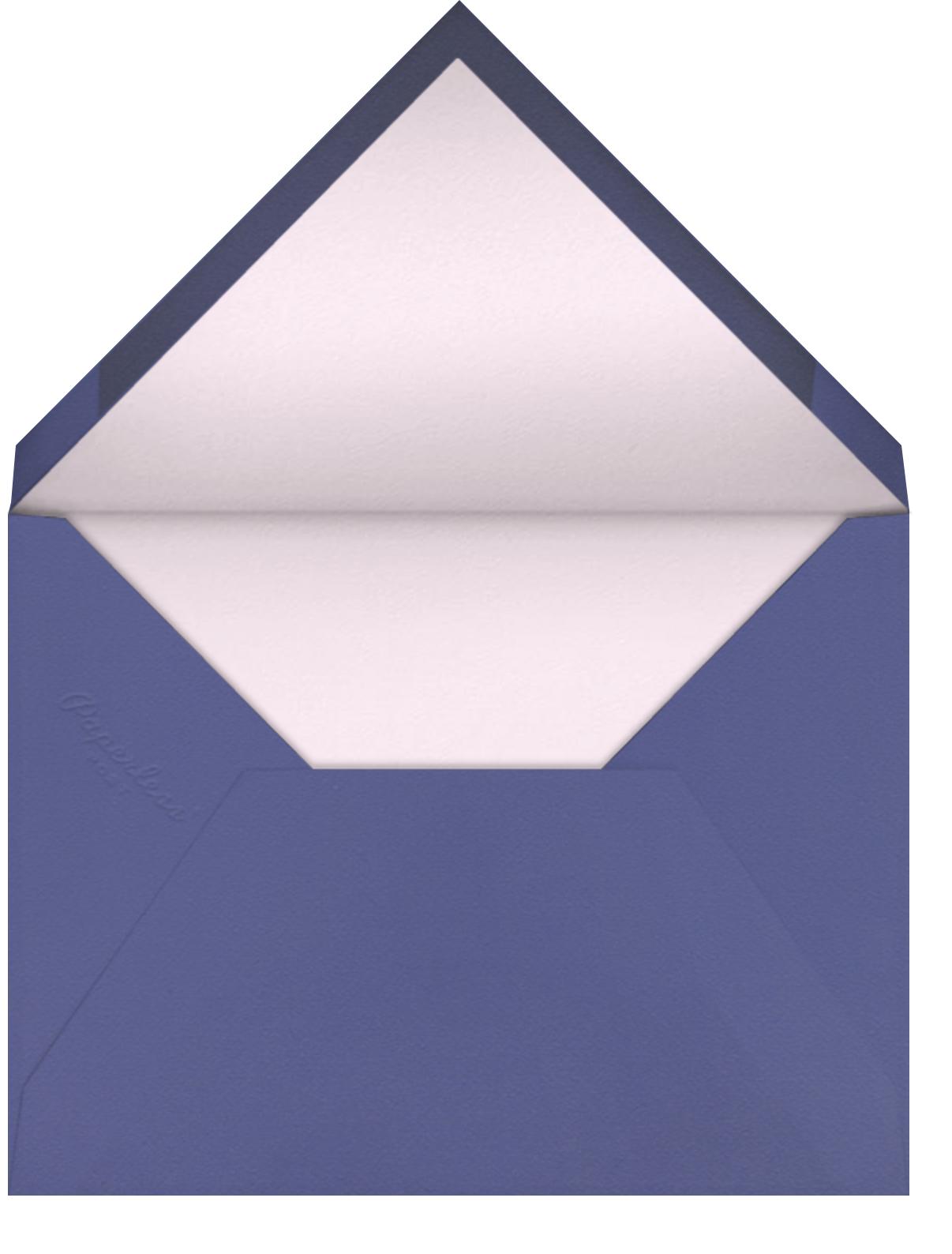 Ikat Arrow - Lilac - Paperless Post - Envelope