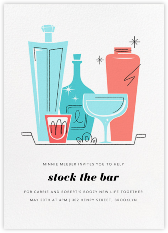 Old Fashioned - Paperless Post - Bachelorette party invitations