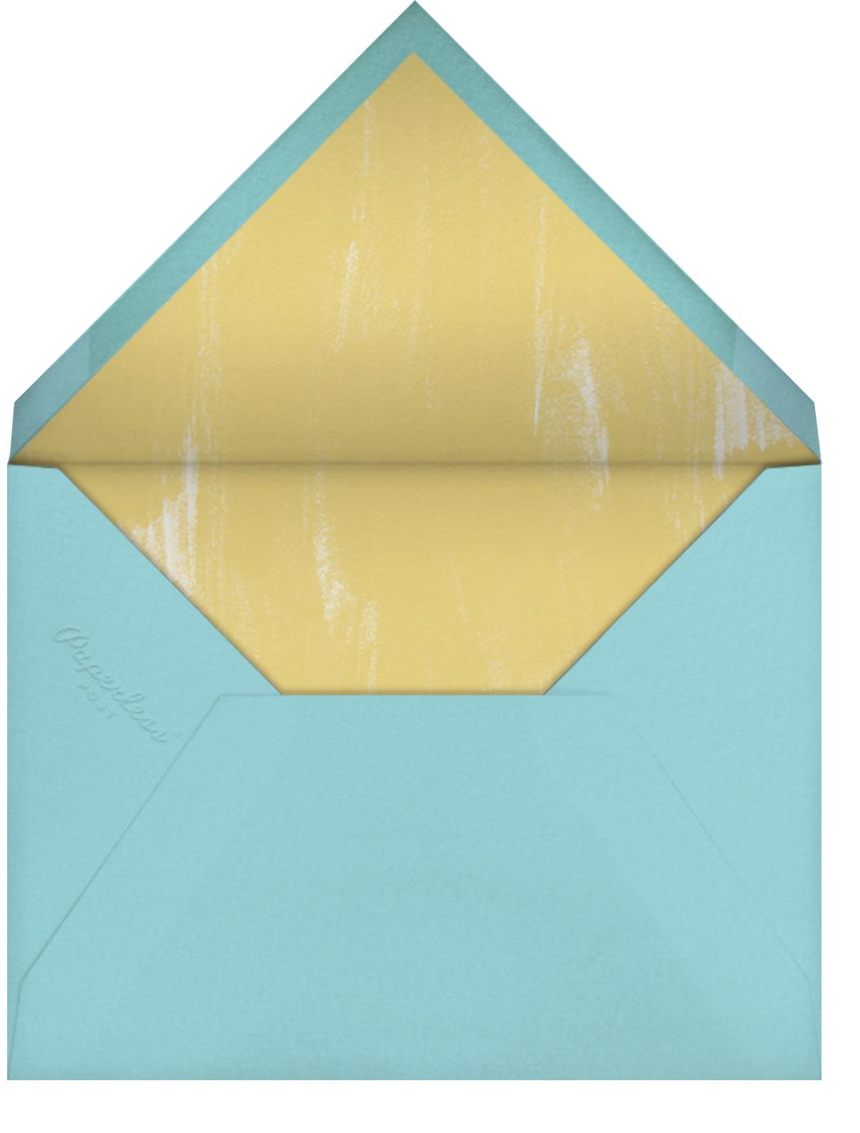 Ourain - Paperless Post - Bridal shower - envelope back