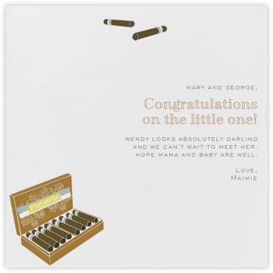 Pantanela - Congratulations (Baby) - Paperless Post - Congratulations cards