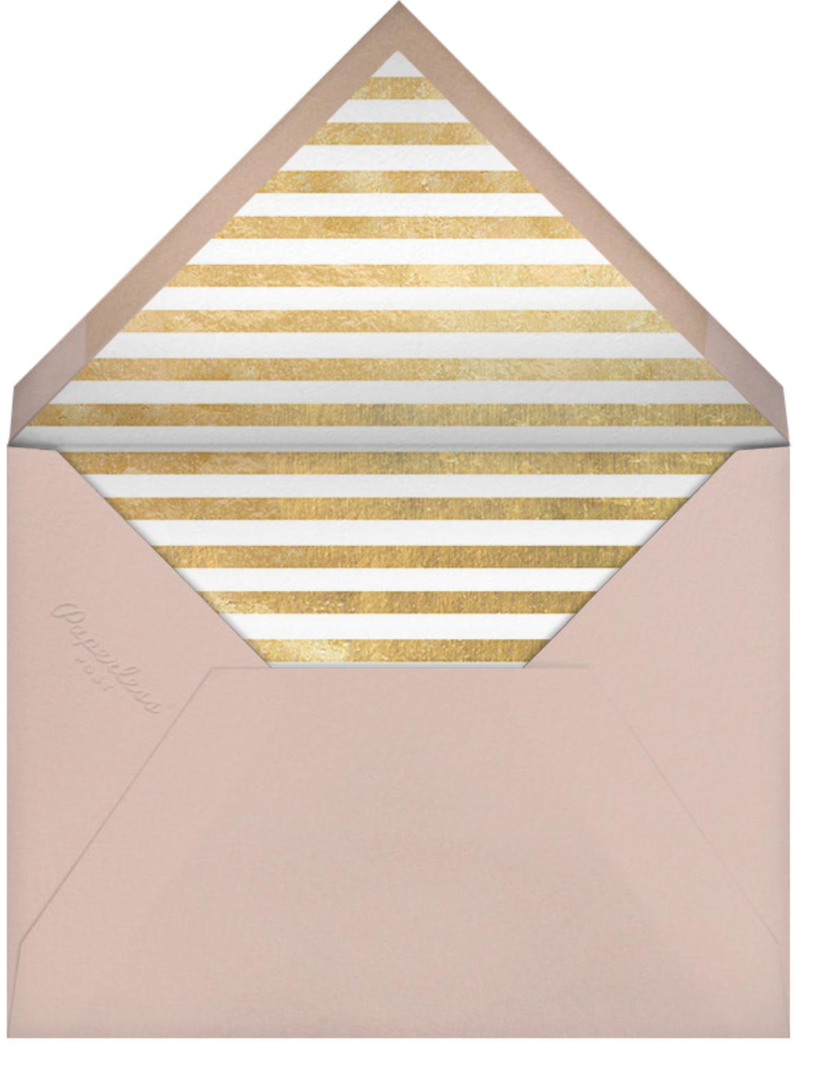Fullerene - Gold - Paperless Post - Birthday - envelope back