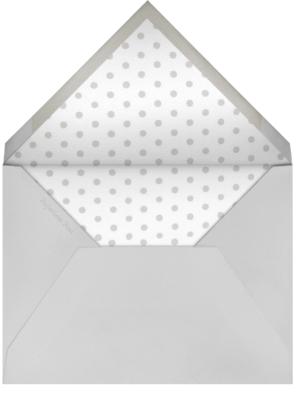 Fort Knox (Tall) - Paperless Post - Birthday - envelope back