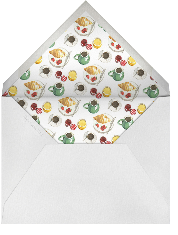Breakfast in Bed - Paperless Post - Mother's Day - envelope back