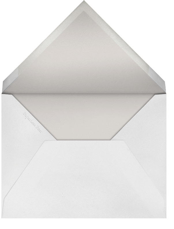Cornice - Paperless Post - Charity and fundraiser  - envelope back
