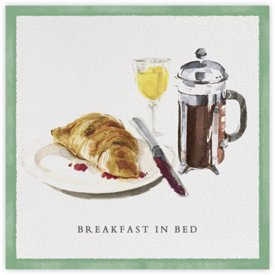 Breakfast in Bed - Paperless Post -