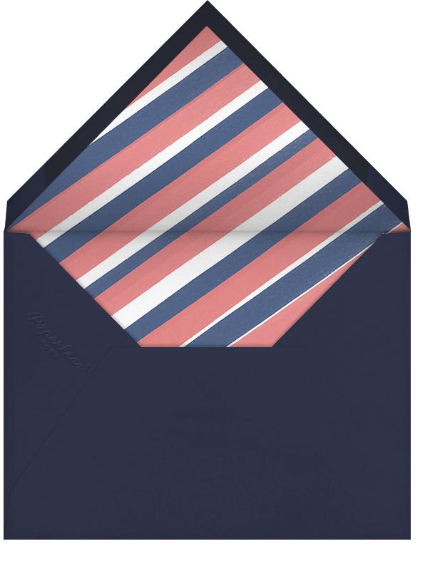 Arabesque (Dark Blue) - Paperless Post - Charity and fundraiser  - envelope back