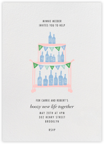 Boozily Ever After - Paperless Post -