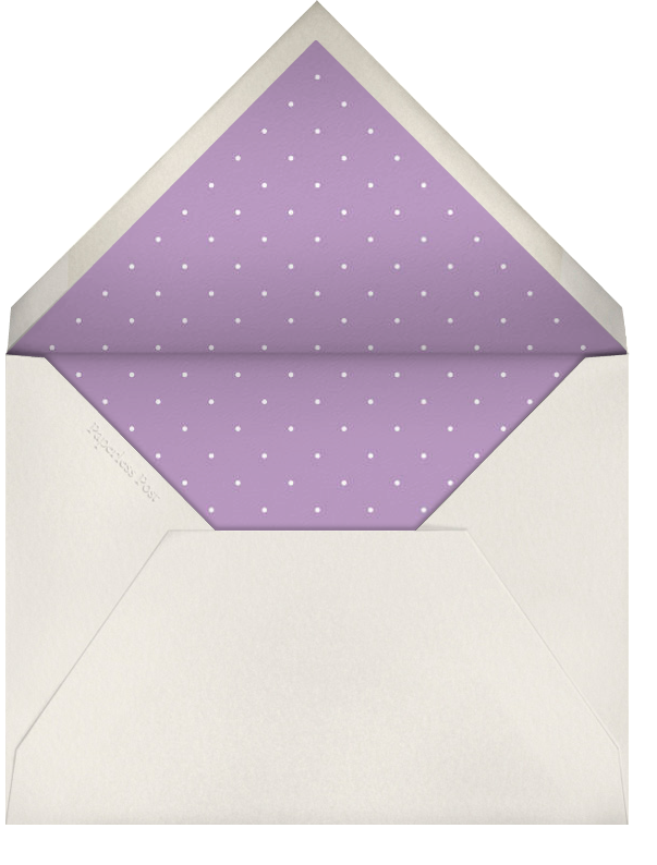 Edge Stain - Lilac and Cream Tall - Paperless Post - Charity and fundraiser  - envelope back