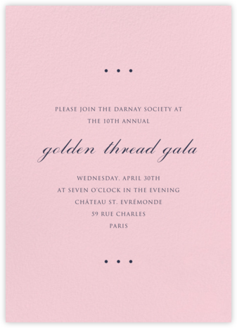 Blush - Paperless Post - Business event invitations