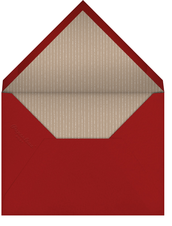 Warsaw - Paperless Post - Charity and fundraiser  - envelope back