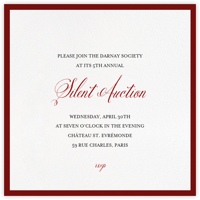 Charity And Fundraiser Invitations  Paperless Post