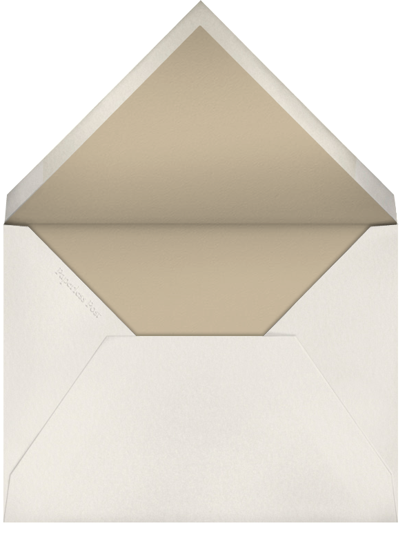 Corinthian (Large Tall) - Paperless Post - Charity and fundraiser  - envelope back