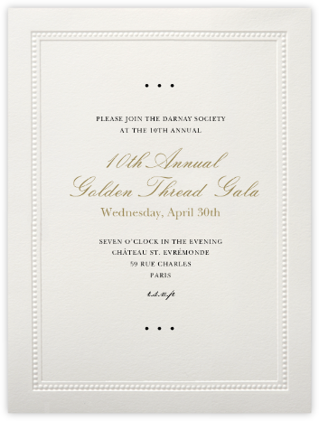 Corinthian (Large Tall) - Paperless Post - Event invitations