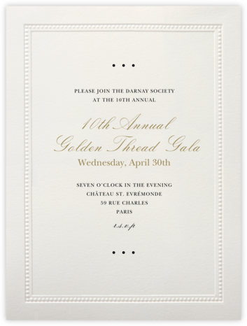 Corinthian (Large Tall) - Paperless Post - Business event invitations