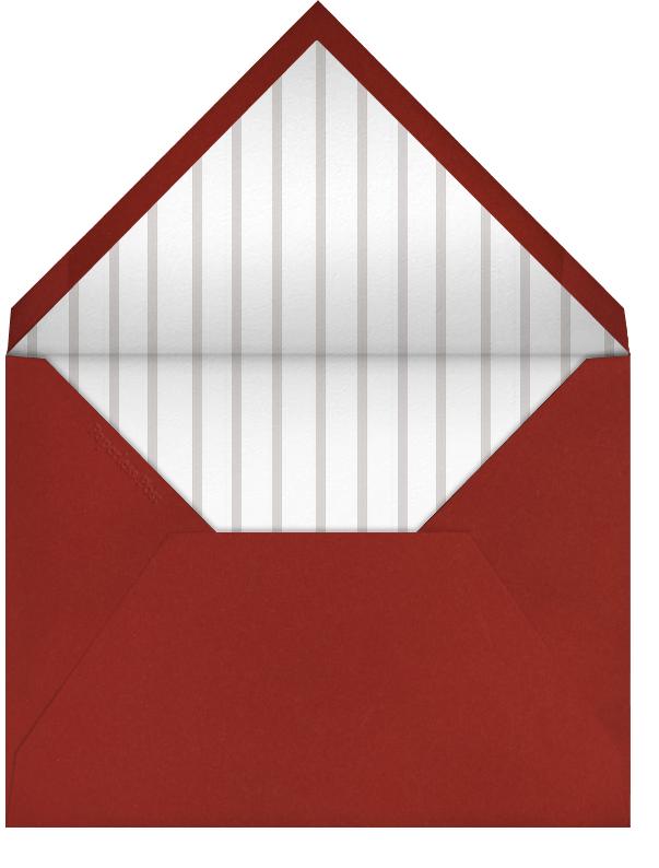 Crimson - Paperless Post - Charity and fundraiser  - envelope back