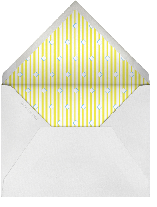 Lemon Drop - Paperless Post - Charity and fundraiser  - envelope back