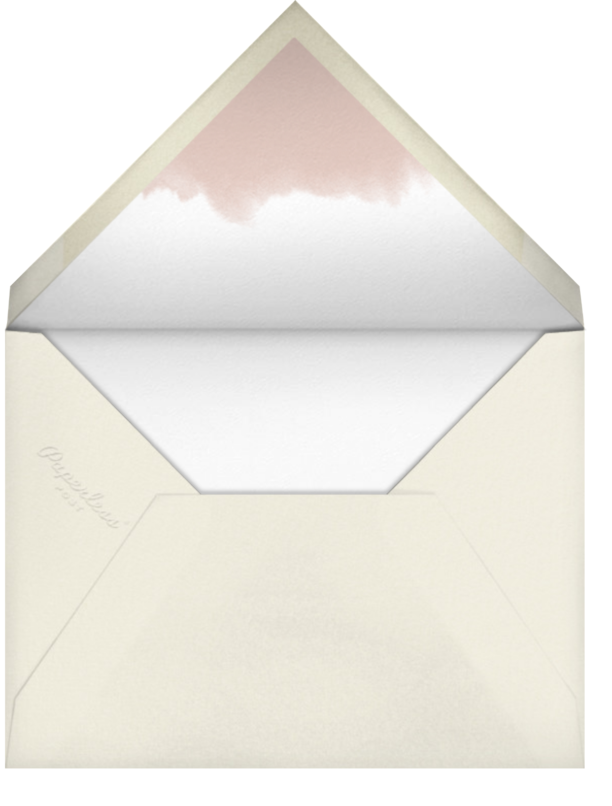 Meringue (Tall) - Paperless Post - Charity and fundraiser  - envelope back