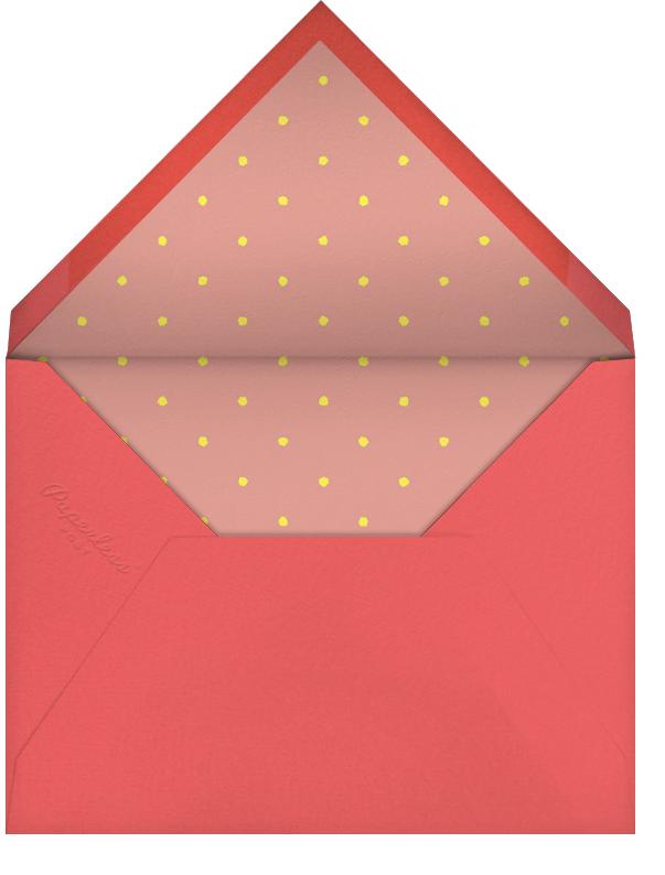 Girls Gone Mild - Derek Blasberg - Bachelorette party - envelope back