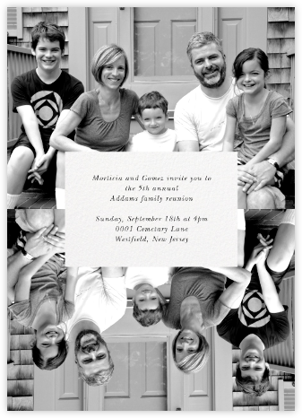 Center Cut Out - Paperless Post - Reunion Invitations