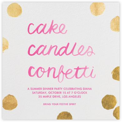 Cake Confetti - Sugar Paper -
