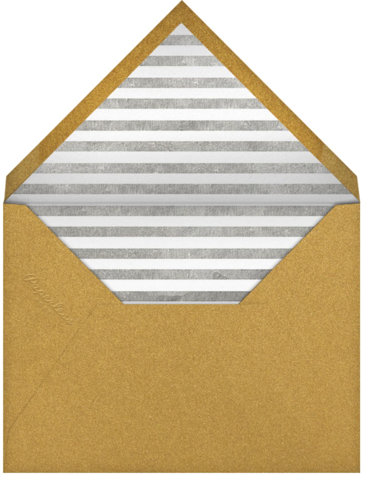 Sip & See - Paperless Post - Baby shower - envelope back