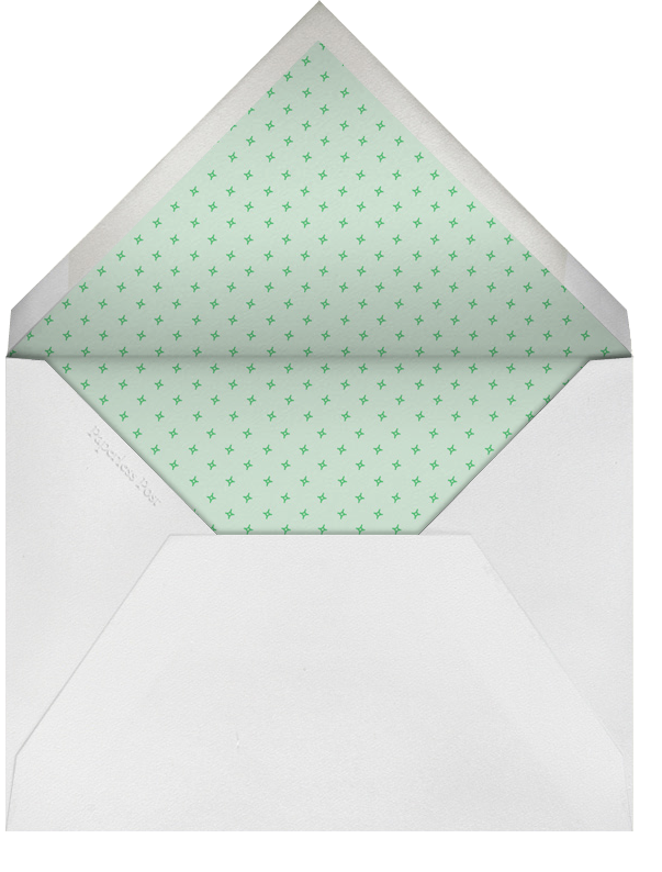 Bunny - Mint - Paperless Post - Envelope