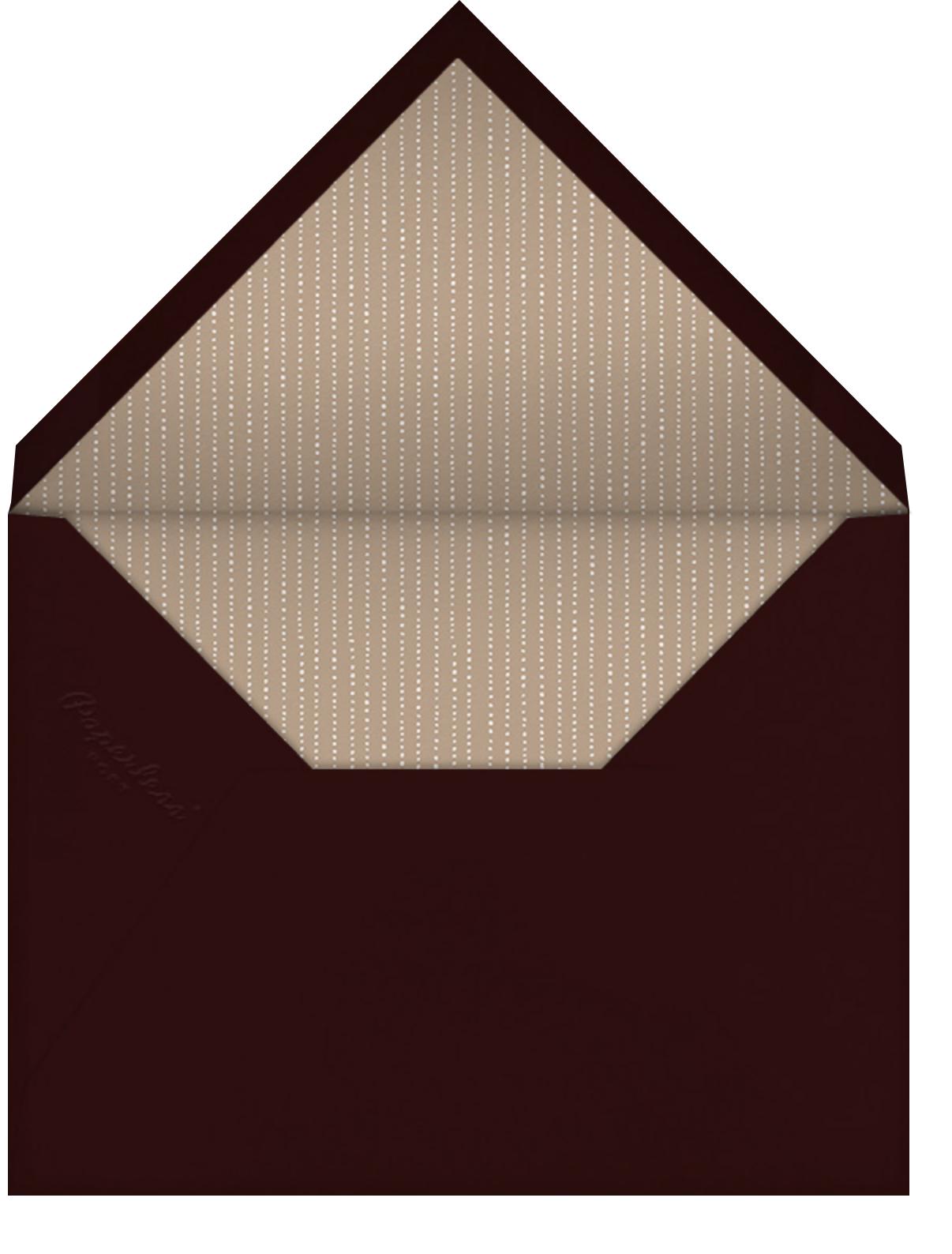 Forsythia - Olive - Paperless Post - All - envelope back