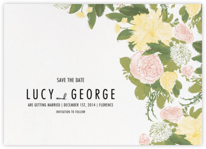 Elizabeth (Save The Date) - Olive - Paperless Post - Save the dates