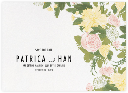 Elizabeth (Save The Date) - Olive - Paperless Post -