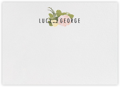 Elizabeth (Thank You) - Olive - Paperless Post - Personalized Stationery