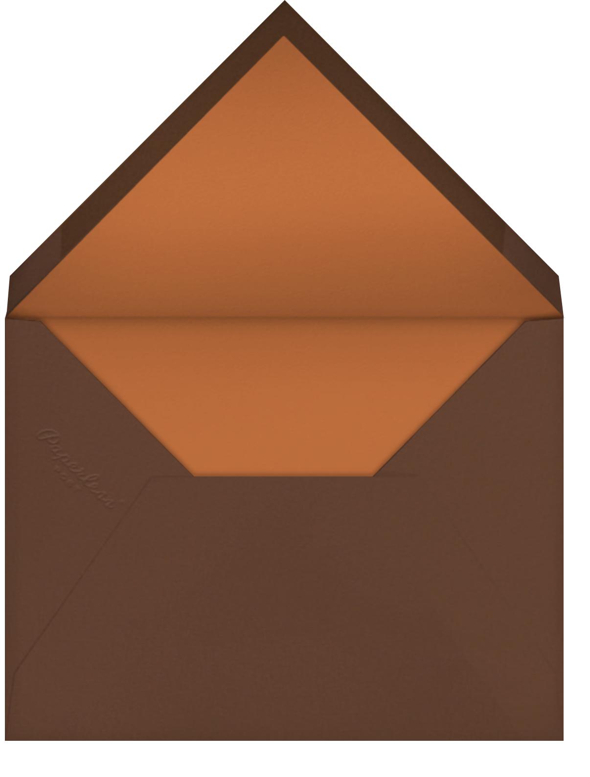 Fern II (Invitation) - Pumpkin - Paperless Post - All - envelope back