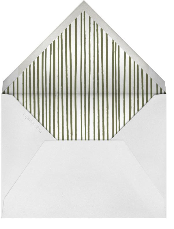 Poppies - Pumpkin - Paperless Post - Envelope