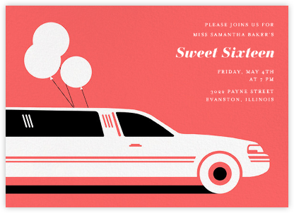 Stretch - Paperless Post - Sweet 16 invitations