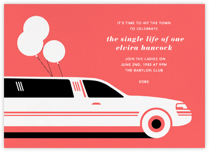 Stretch - Paperless Post - Bachelorette Party Invitations