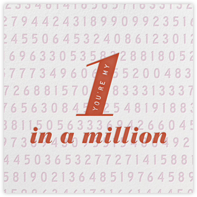 One in a Million | square